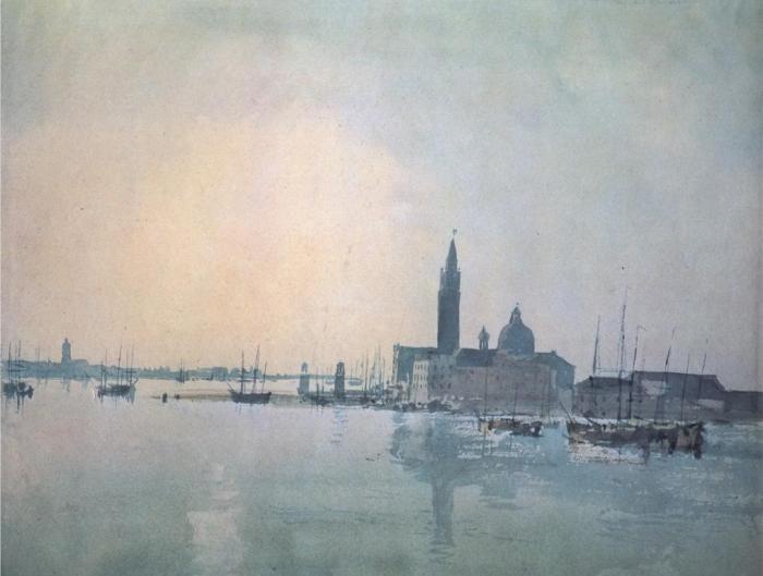 San Giorgio Maggiore in the Morning 1819