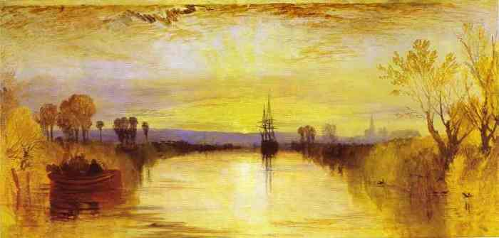 Joseph Mallord William Turner, 'Chichester Canal', 1829
