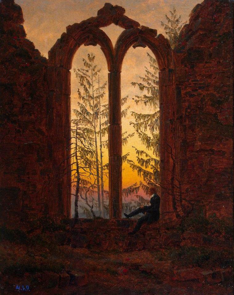Caspar David Friedrich, Il Sognatore, 1835
