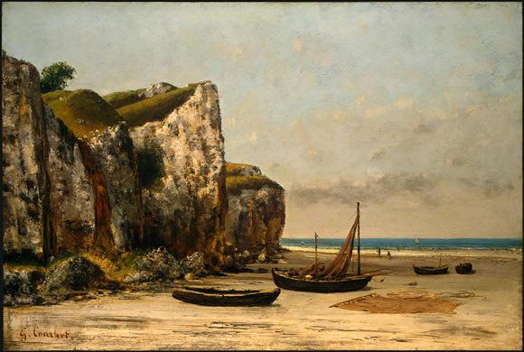 Plage de Normandie, 1872/1875