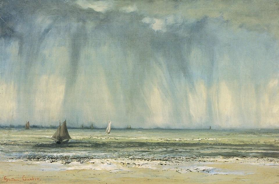 Gustav Coubert, Marina 1866