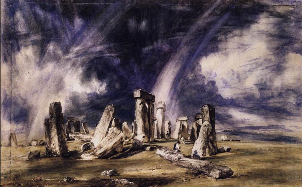 John constable stonehenge, 1835