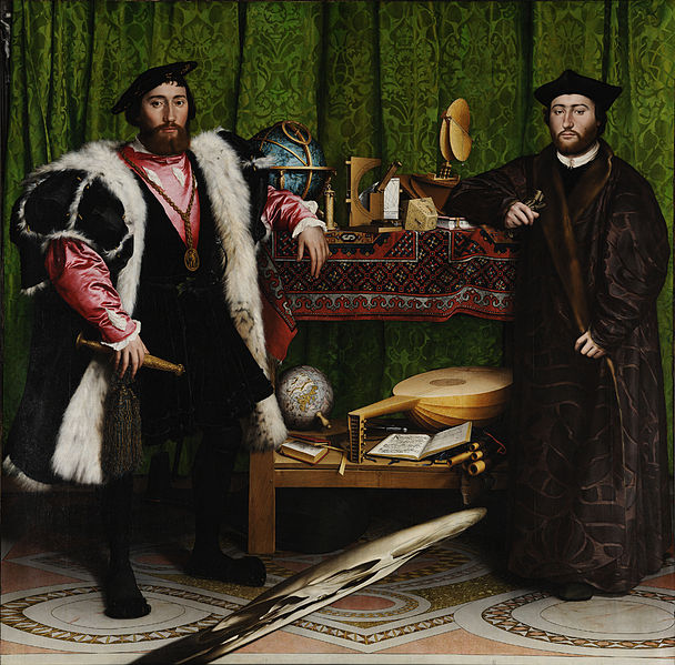 Hans Holbein - Gli ambasciatori, 1533