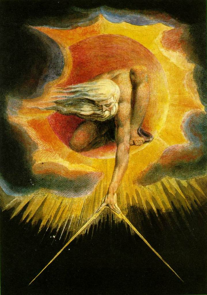 "W. Blake ""The Ancient of Days"" - Acquaforte"