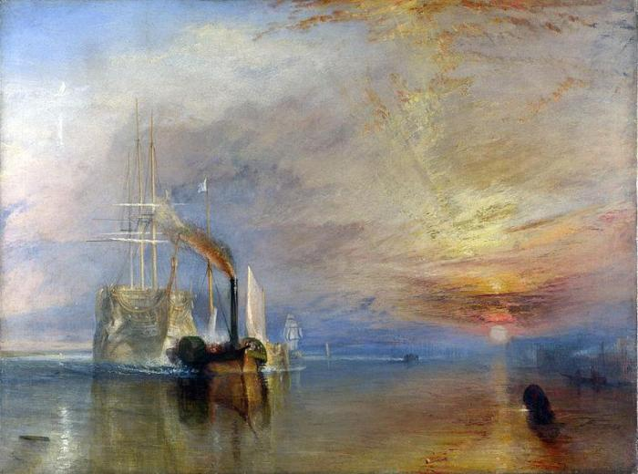 Turner La valorosa Téméraire 1838-1839