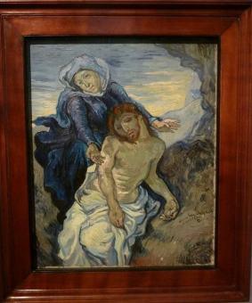 Vincent Van Gogh, La Pietà - musei vaticani 1890 -