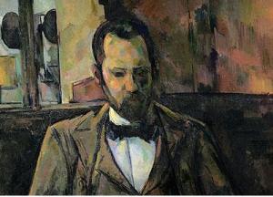 Ambroise Vollard in un ritratto di Paul Cezanne, 1899