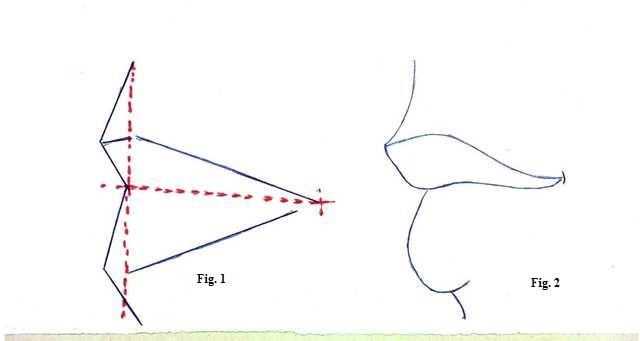 Ben noto Disegnare una bocca di profilo – PitturiAMO WC73