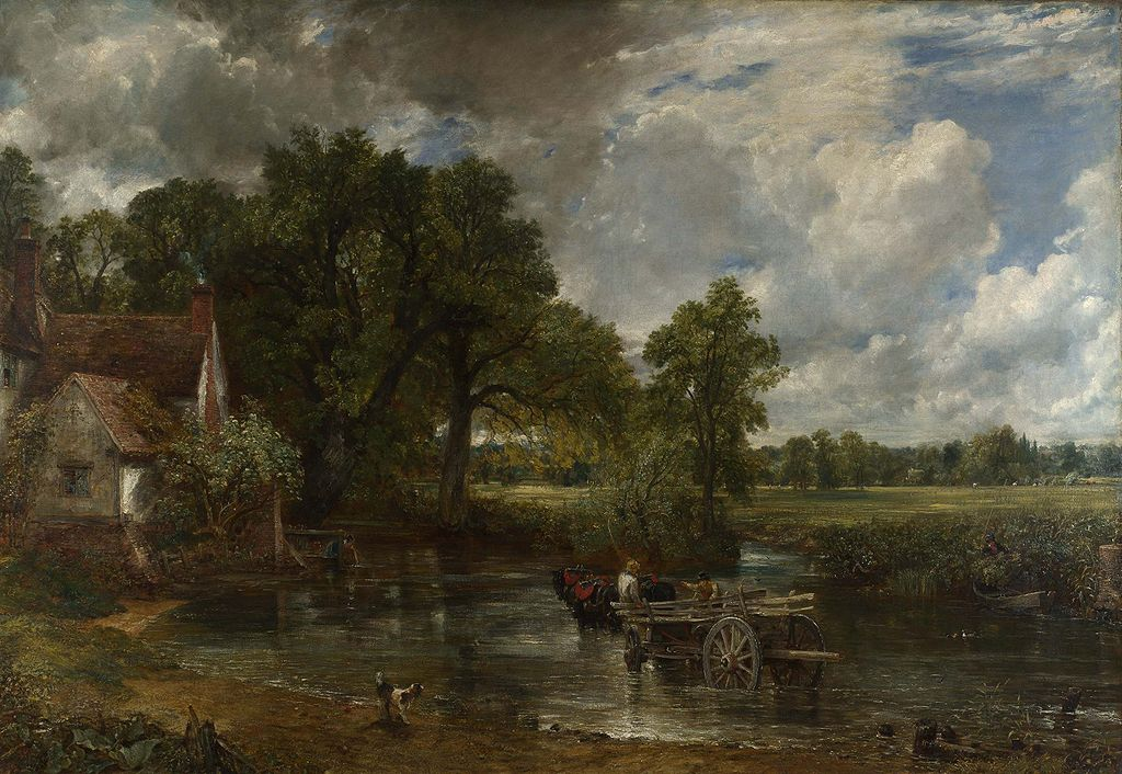 Constable's The Hay Wain of 1821