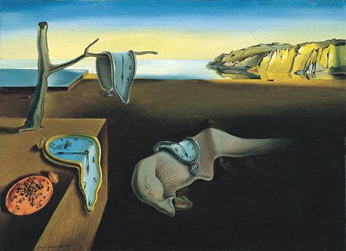 Persistenza della memoria di Salvador Dalì - 1931 -