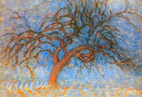 L'albero rosso - Mondrian