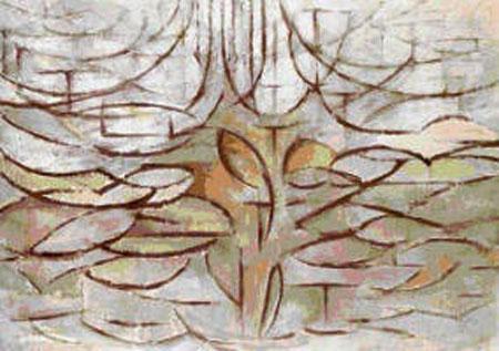 Melo in fiore - Mondrian