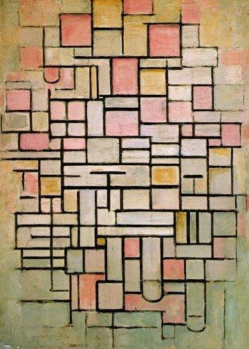 Composizione n. 6 - Mondrian 1914