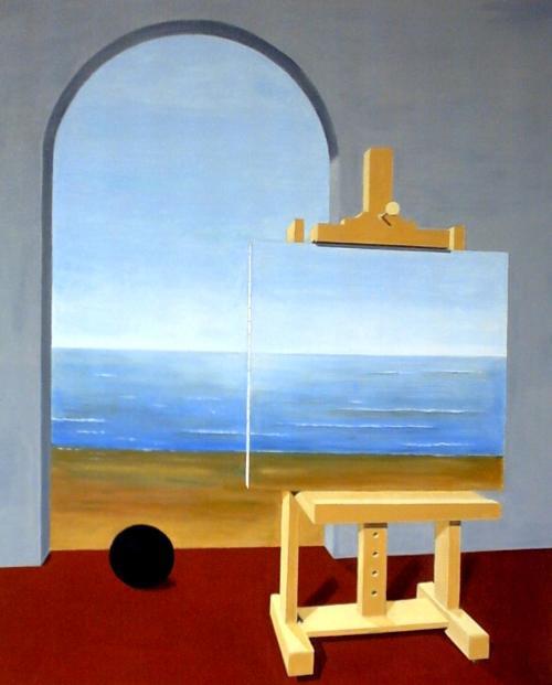 La condizione umana - René Magritte