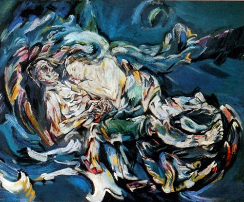 Oskar Kokoschka, La sposa nel vento 1914