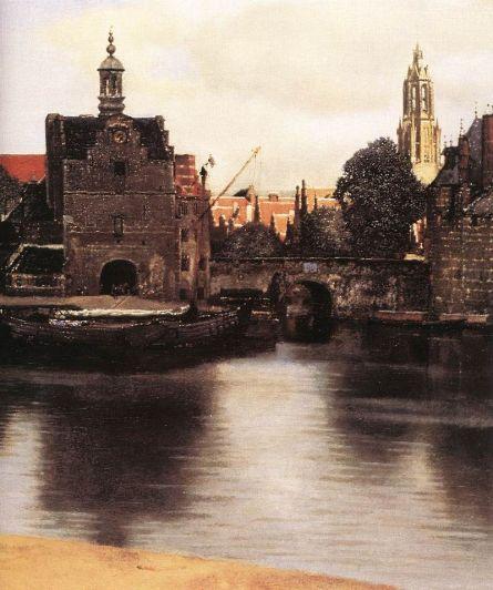 Dettaglio della Veduta di Delft