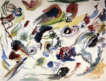 Il primo acquarello astratto, Kandinskij