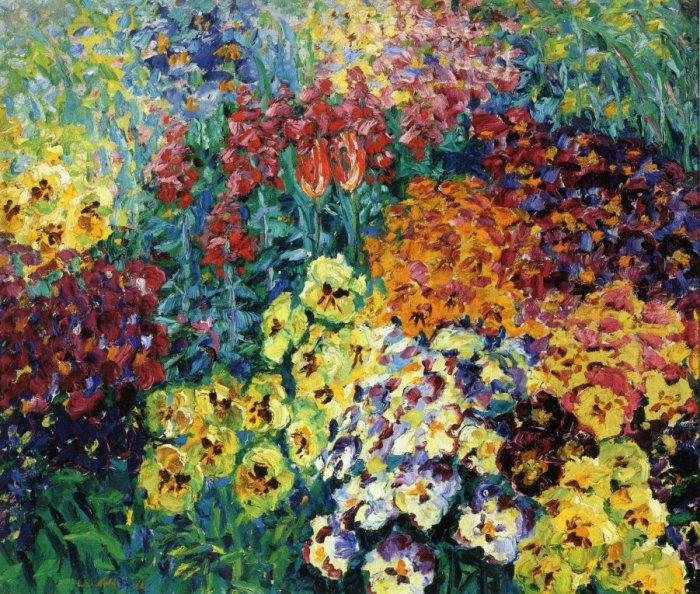 Emil Nolde Giardino fiorito 1908
