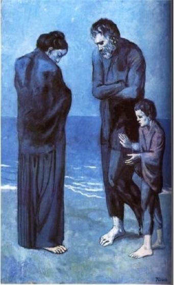 Poveri in riva al mare, 1903