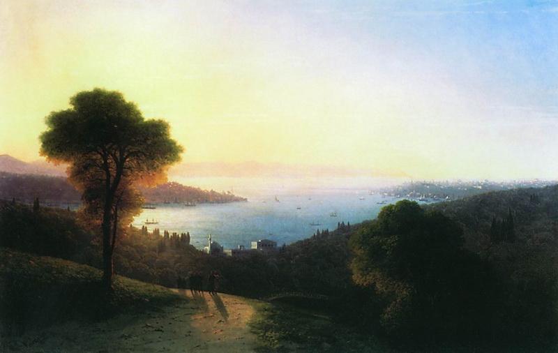 Ivan Konstantinovich Aivazovsky, Type Bosphorus, 1874