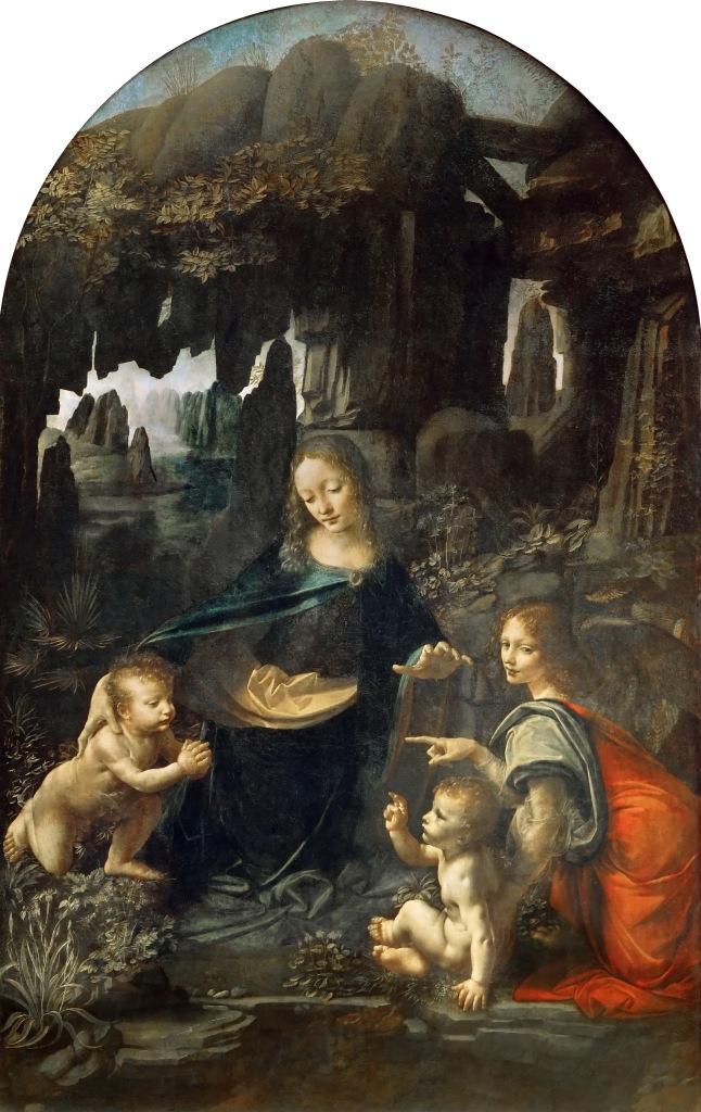 La Vergine delle rocce - Leonardo