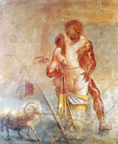 Polifemo e Galatea (Napoli, Museo Archeologico)