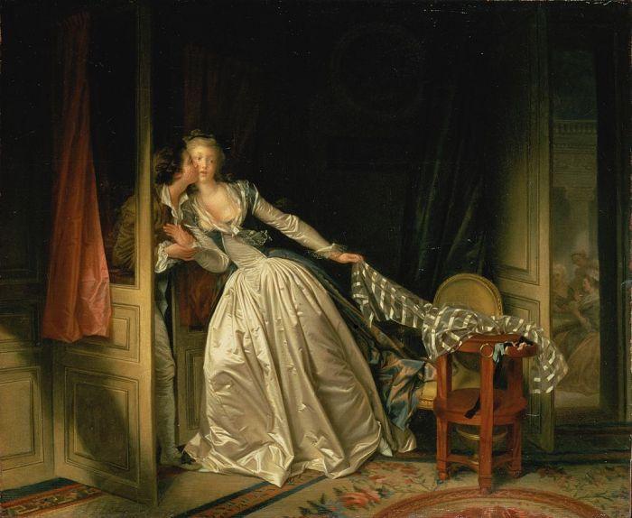 Jean Honoré Fragonard - Il bacio rubato -