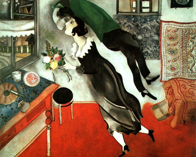 M. Chagall - Compleanno - 1915