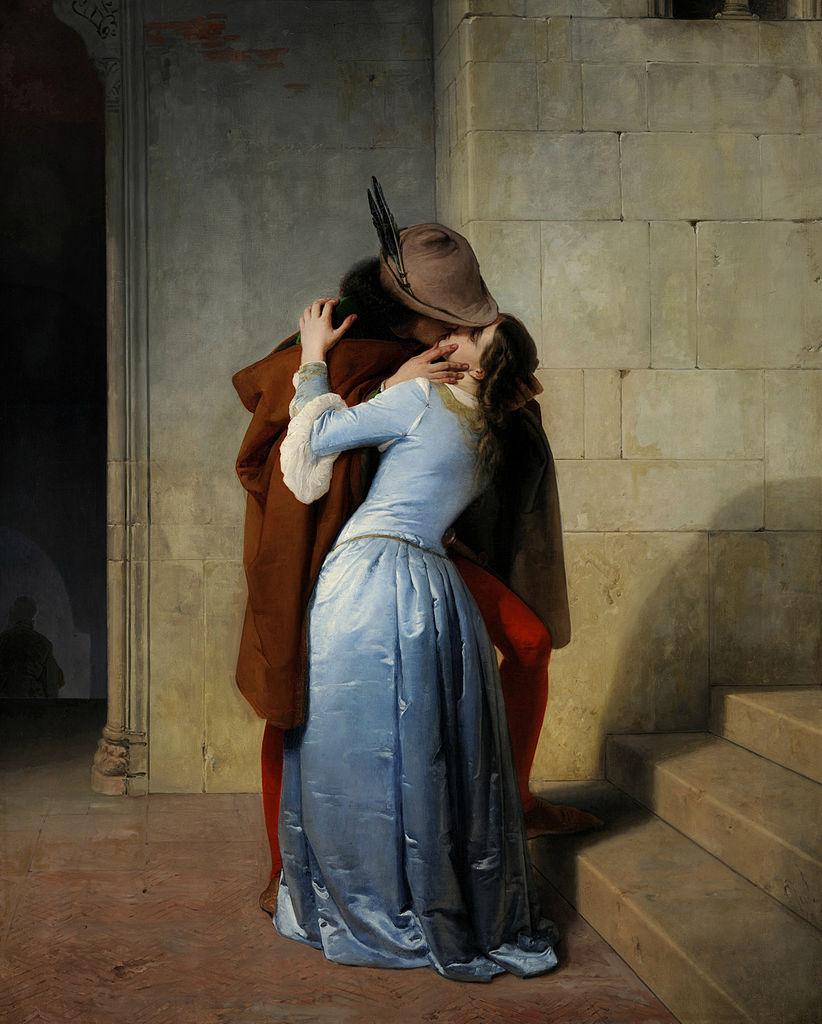 Hayez - Il bacio - 1859