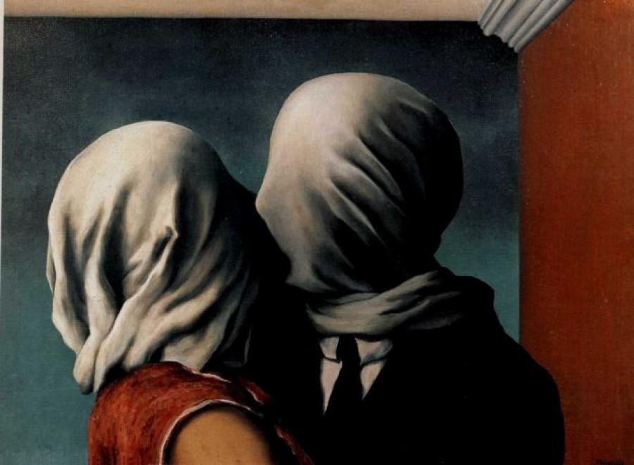 René Magritte - Gli amanti - 1928