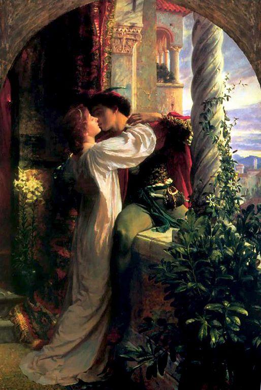 Sir Frank Dicksee - Romeo e Giulietta - 1844