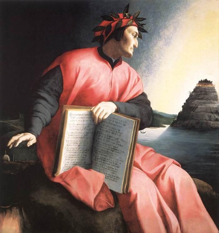 Ritratto allegorico di Dante - Bronzino, 1532
