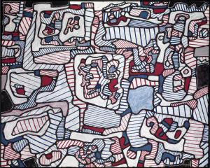Site Inhabited by Objects 1965 Jean Dubuffet