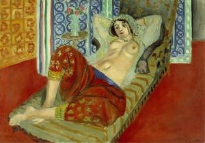 Henri Matisse - Odalisca in pantaloni rossi, 1921