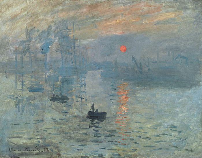 Claude Monet - Impressione, levar del Sole
