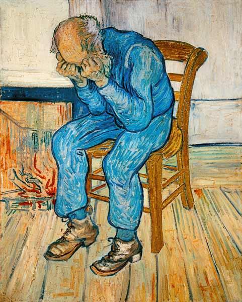 Sulla soglia dell'eternità - 1809 Vincent Van Gogh